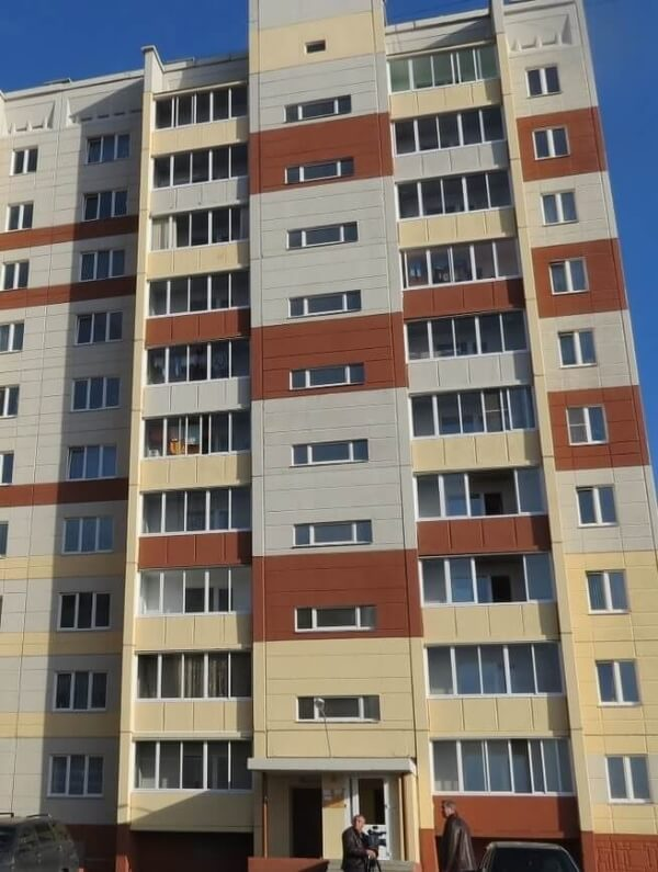 Фасад с «рустом» - г. Миасс