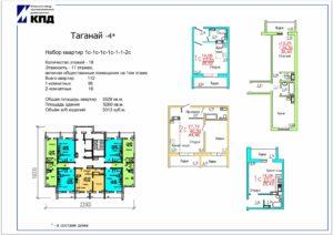Планировки 20-этажных домов