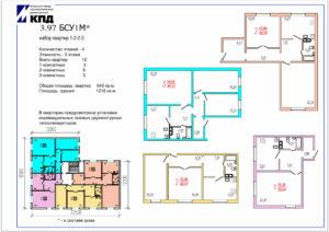 Планировки 3-этажных домов