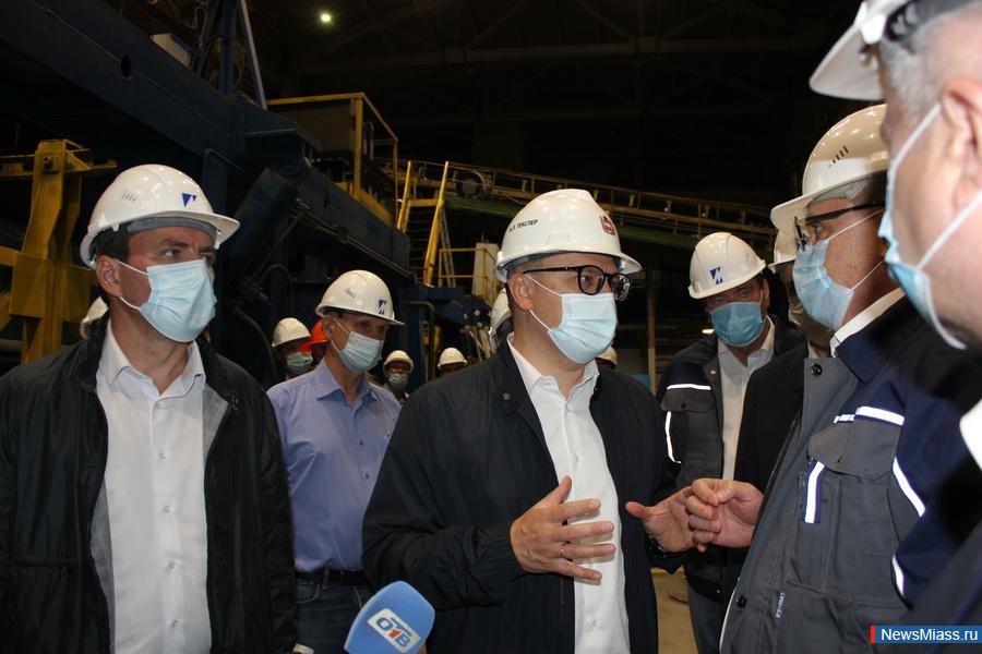 Губернатор Челябинской области Алексей Текслер с рабочим визитом посетил Завод КПД 3
